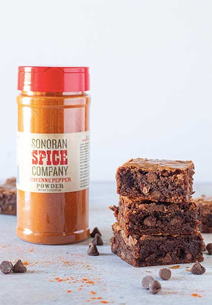 Spicy Cayenne Brownies