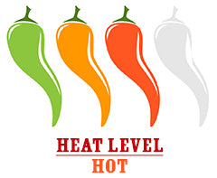 Mango Habanero Hot Sauce Heat Level Medium