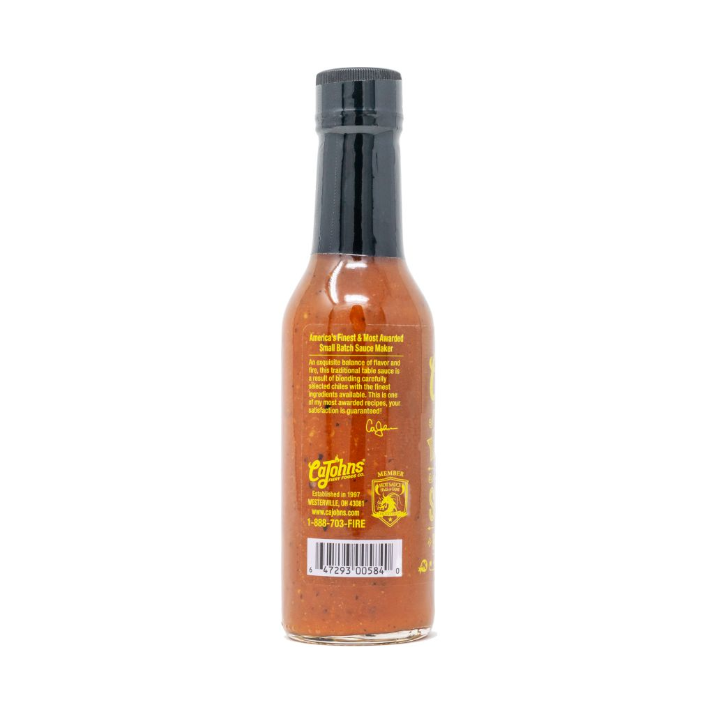 Cajohns Small Batch Trinidad Scorpion Pepper Hot Sauce