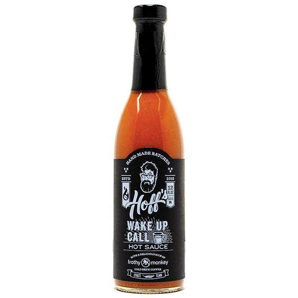 Hoff's Wake Up Call Hot Sauce The Hoff & Pepper