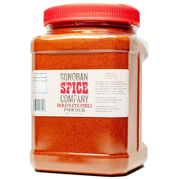 Bird's Eye Chili Powder Bird's Eye Pepper Powder Sonoran Spice 1 Kg