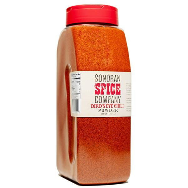 Bird's Eye Chili Powder Bird's Eye Pepper Powder Sonoran Spice 16 Oz
