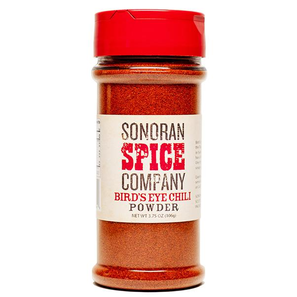 Bird's Eye Chili Powder Bird's Eye Pepper Powder Sonoran Spice 3.75 Oz
