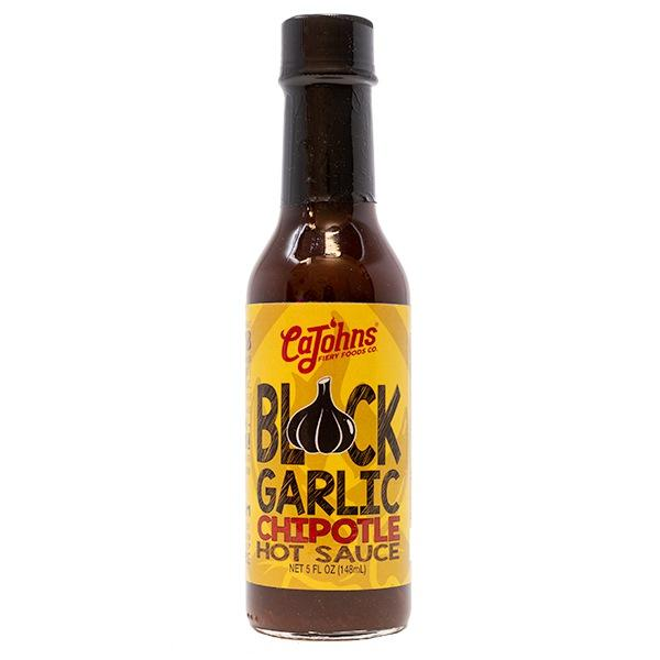 CaJohns Black Garlic Chipotle Hot Sauce Hot Sauce CaJohns Fiery Foods Co.
