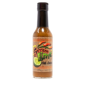 CaJohns Serrano Lime Hot Sauce Hot Sauce CaJohns Fiery Foods Co.