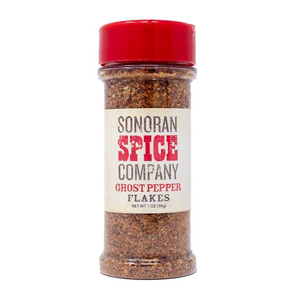 Ghost Pepper Flakes (Bhut Jolokia) Ghost Pepper Flakes Sonoran Spice 1 Oz