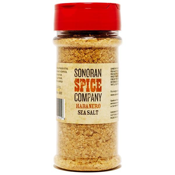 Habanero Infused Sea Salt Infused Sea Salt Sonoran Spice 10 Oz