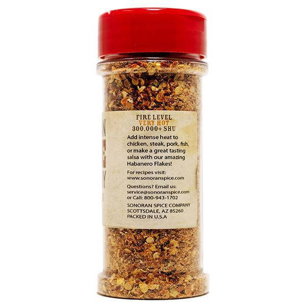 Habanero Pepper Flakes - 1 Oz | Sonoran Spice