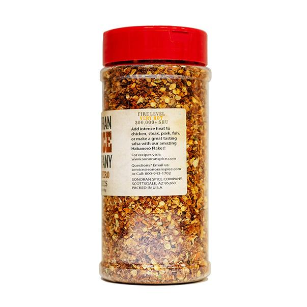 Habanero Pepper Flakes - 4 Oz | Sonoran Spice