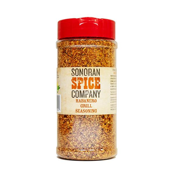 Habanero Vegetable, Steak, and Chicken Seasoning Grill Seasoning Sonoran Spice 10 Oz