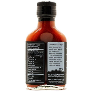 Hoff Sauce Mini Flask 3.4 Oz Hot Sauce The Hoff & Pepper