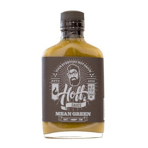 Mean Green - Hoff Jalapeno Hot Sauce Hot Sauce The Hoff & Pepper