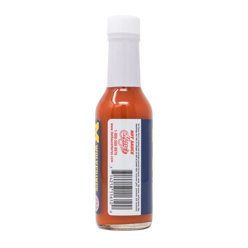 Michigan Wolverines Cayenne Hot Sauce Hot Sauce Sonoran Spice