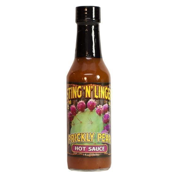Prickly Pear Hot Sauce Hot Sauce Sting N' Linger