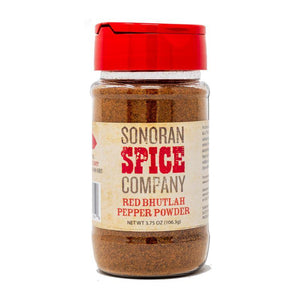 Red Bhutlah Pepper Powder Bhutlah Sonoran Spice 3.75 Oz