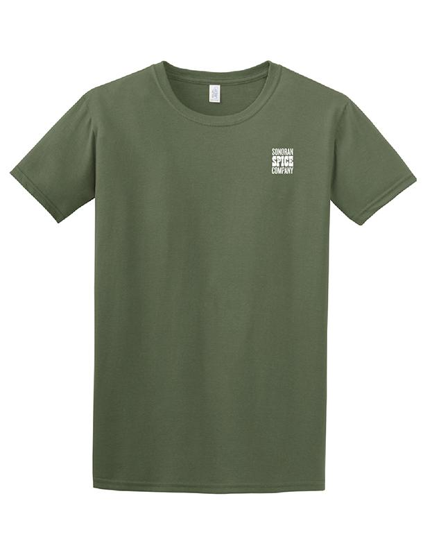 Sonoran Spice Pepper T-Shirt t-shirt Sonoran Spice S Heather Military Green