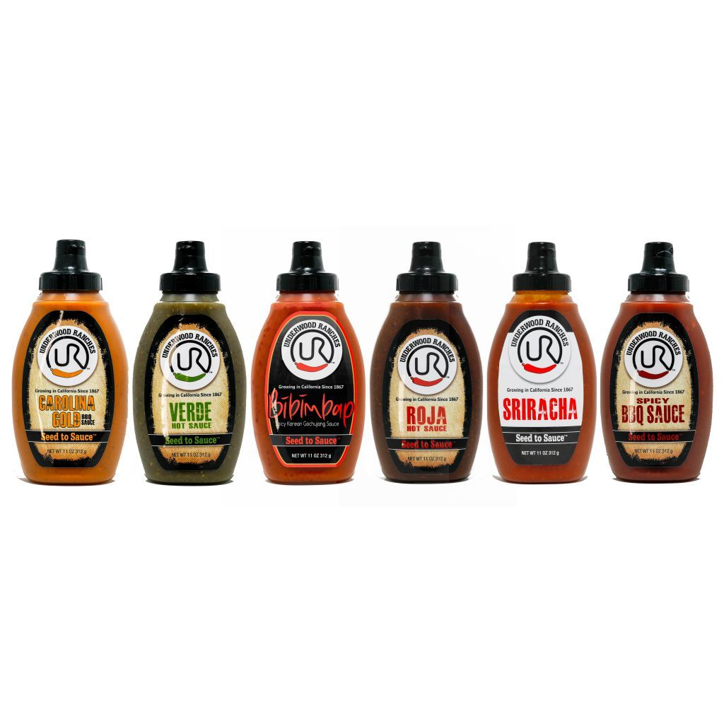Underwood Ranches Hot Sauce & BBQ Sauce 6 Pack Hot Sauce Sonoran Spice