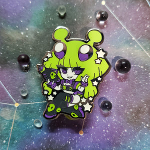 Invader Cassiopeia Enamel Pin