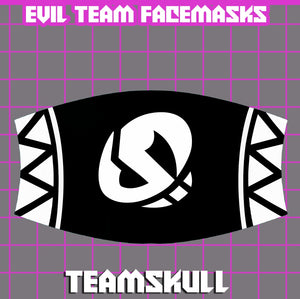 Team Skull Face Mask