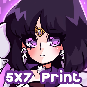 Sailor Saturn Print