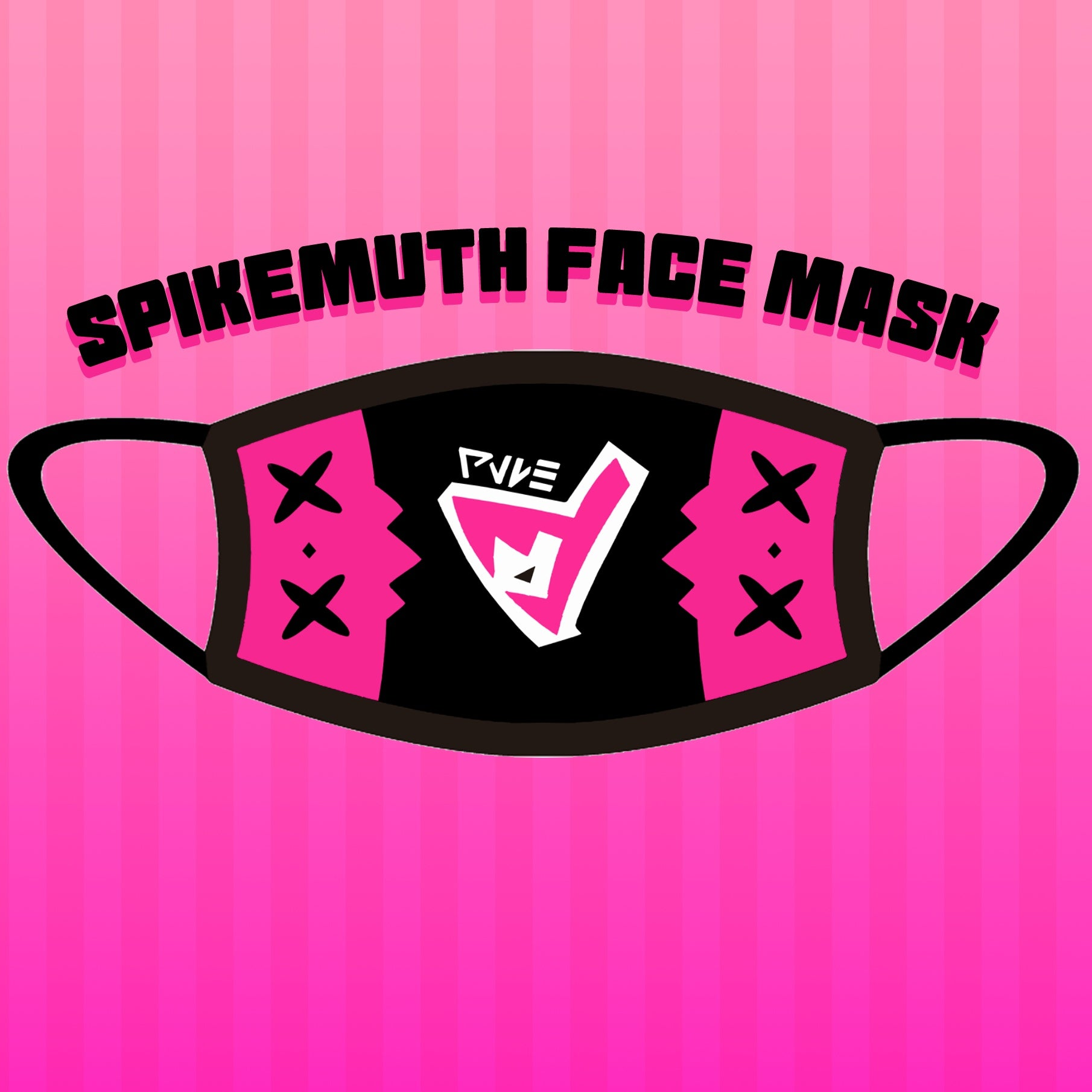Spikemuth Face Mask