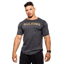 Load image into Gallery viewer, Bulking Bodybuilding Slim T-shirt