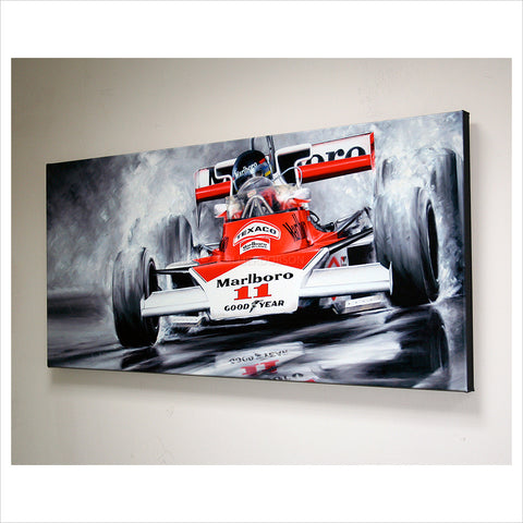 James Hunt by Anthony Dobson