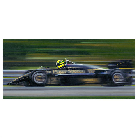 On the Limit - Ayrton Senna by Anthony Dobson