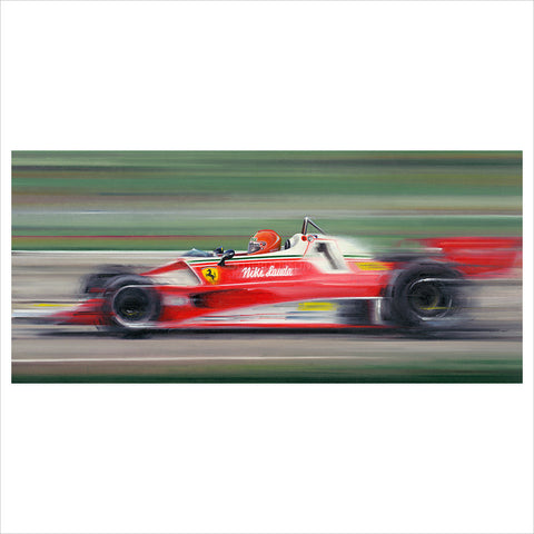 On the Limit - Niki Lauda by Anthony Dobson