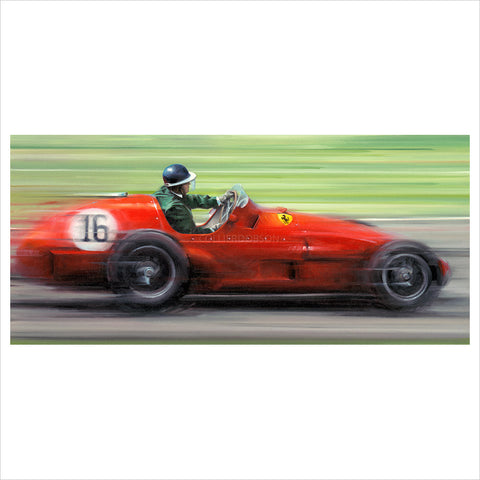 On the Limit - Mike Hawthorn by Anthony Dobson