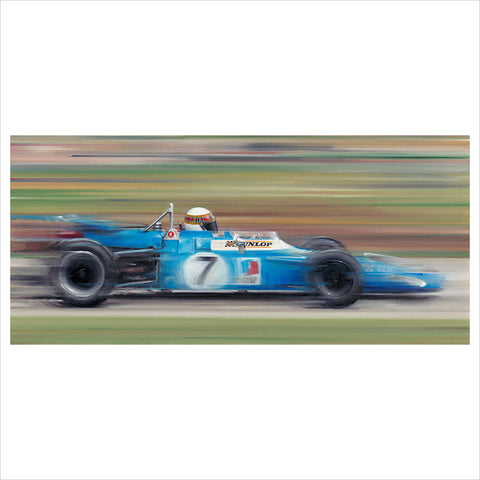 On the Limit - Jackie Stewart by Anthony Dobson