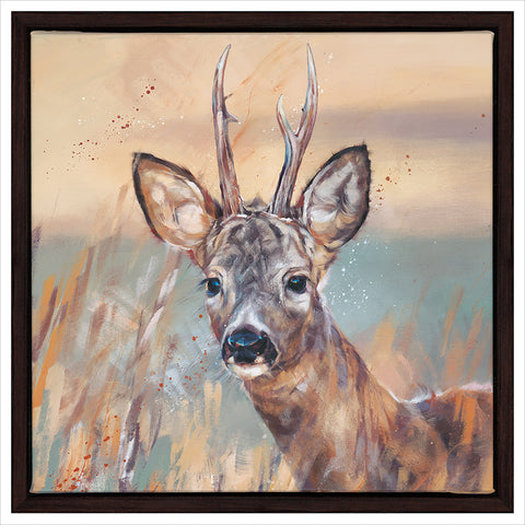 Buck In Winter by Debbie Boon