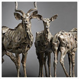 Kudu Herd by Fred Gordon