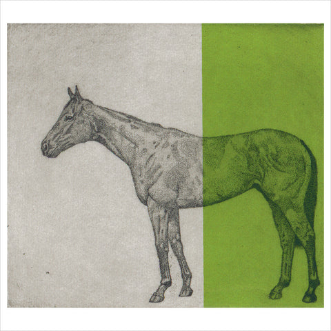 Little Horse Study - Green by Guy Allen