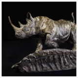 Black Rhino by Hamish Mackie