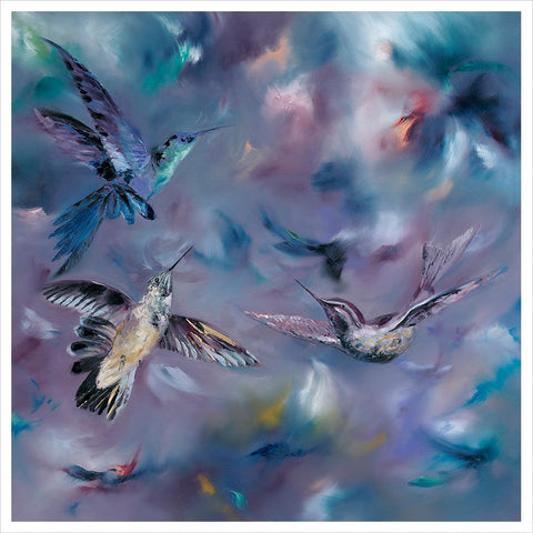 Hummingbirds by Julie Ann Scott