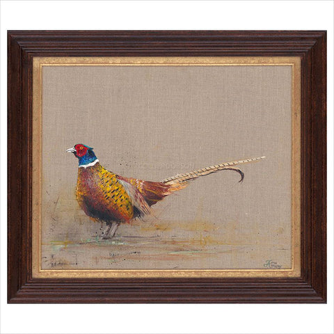 The Ring Necked Pheasant by Josie Appleby