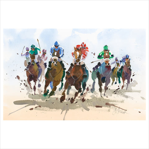 The Final Furlong II by Jake Winkle