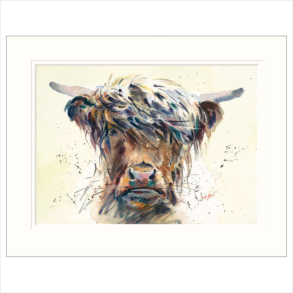 Jake Winkle Limited Edition Print | Stroppy Cow | Order on