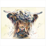 Stroppy Cow by Jake Winkle
