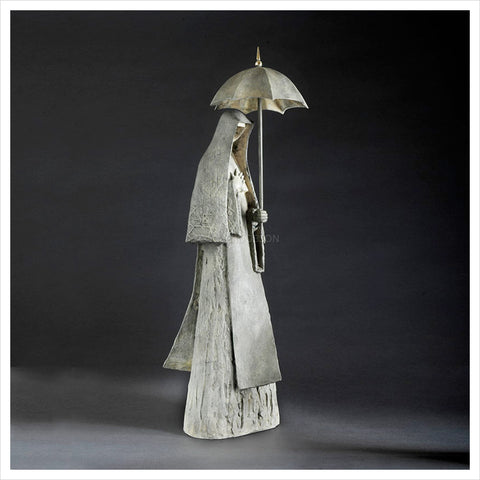 It Raineth Even on the Just Maquette by Philip Jackson