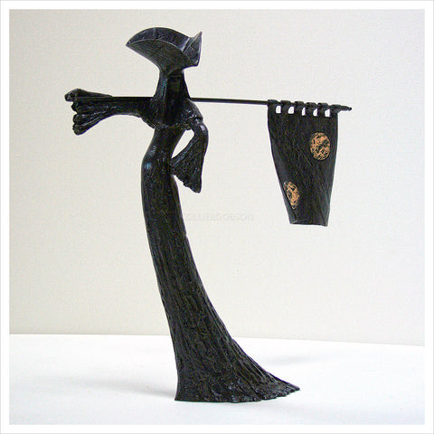 The Standard Bearer Maquette by Philip Jackson