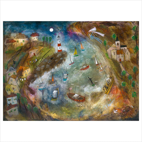 Harbour Life by Rosa Sepple
