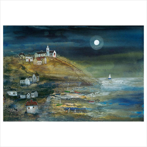 Coastal Village by Rosa Sepple