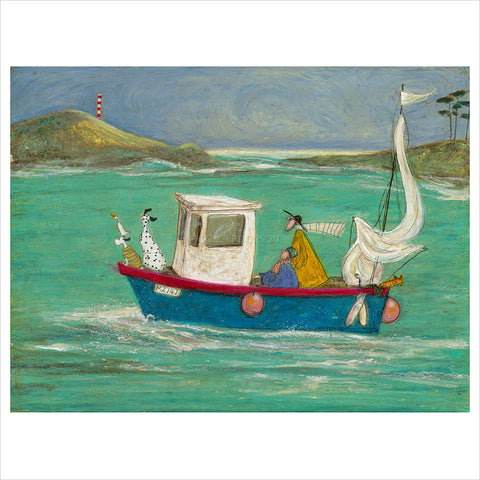 The Cornish Pasty Cruise by Sam Toft