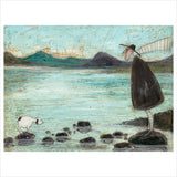 Coniston Stepping Stones by Sam Toft