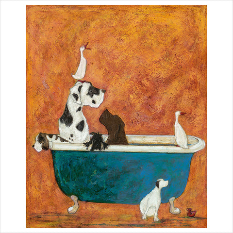 Big Dog Bath by Sam Toft