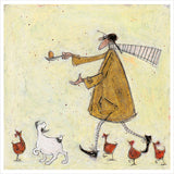 Egg and Spoon by Sam Toft