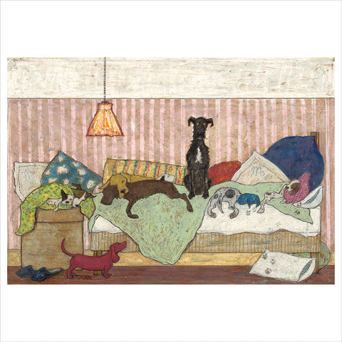 Big Dog Bed by Sam Toft