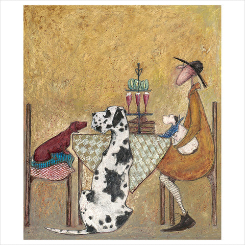 Pass the Cake by Sam Toft